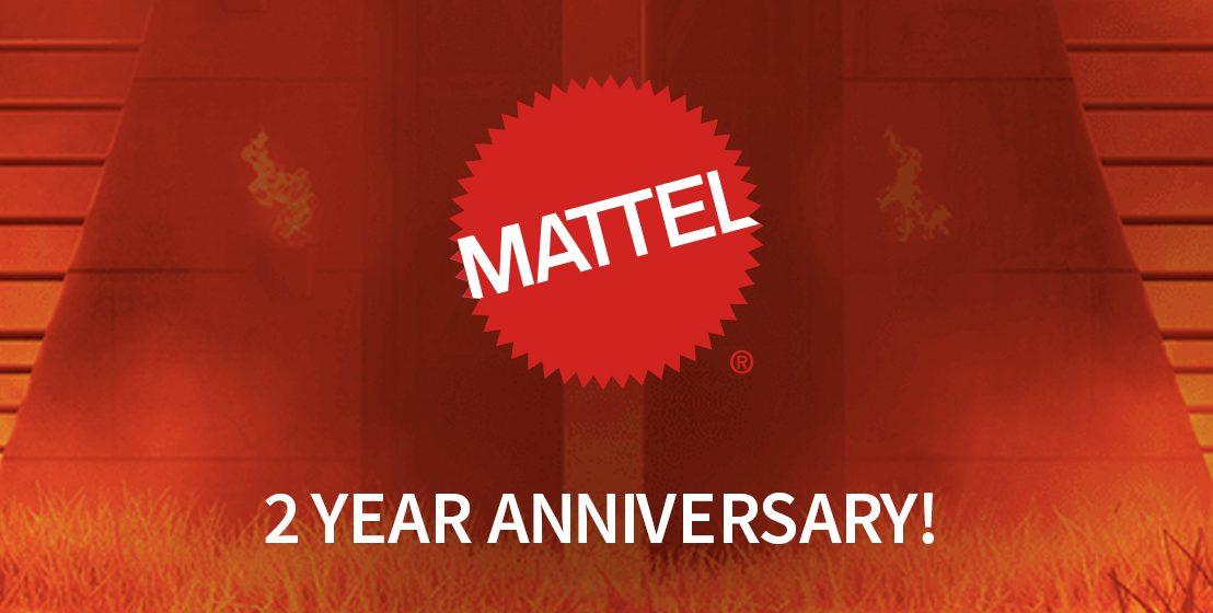 Happy Jurassic Anniversary Mattel!