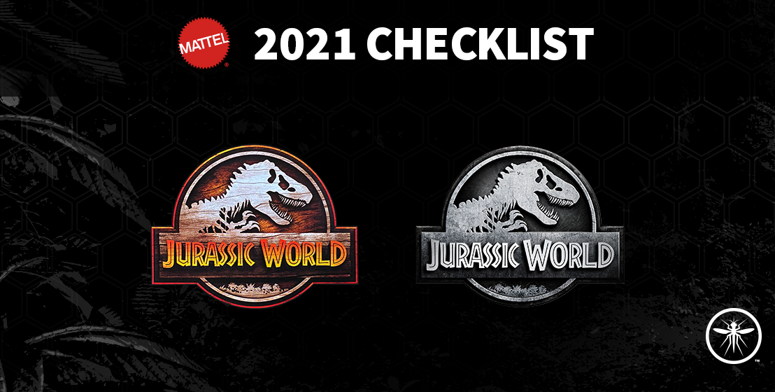 2021 Mattel Jurassic World Toy Line Checklist
