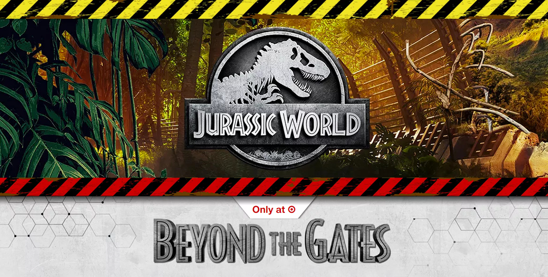 Introducing Jurassic World: Beyond The Gates – Now Live on Target.com!